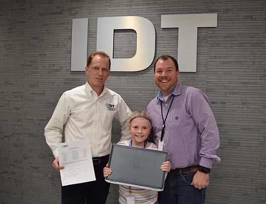 IDT Donates Laptops
